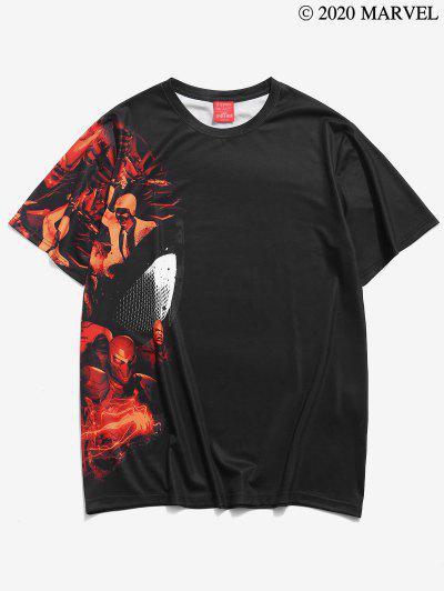 Marvel Spider-Man Character T-shirt - Black M