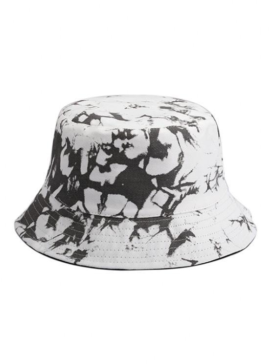 ladies Tie Dye Reversible Bucket Hat - MULTI-A