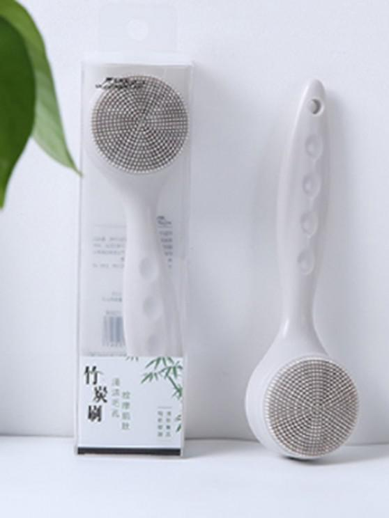 outfits Multi-purpose Silicone Face Cleansing Brush - GRAY