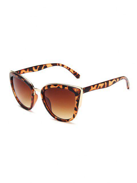 Retro Leopard Katzenaugen Sonnenbrille - Leopard  Mobile