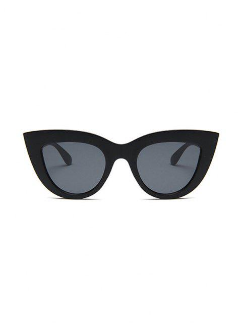 latest Animal Eye Shape Full Frame Sunglasses - BLACK  Mobile