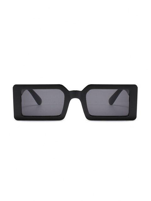 outfit Full Frame Rectangle Sunglasses - BLACK  Mobile
