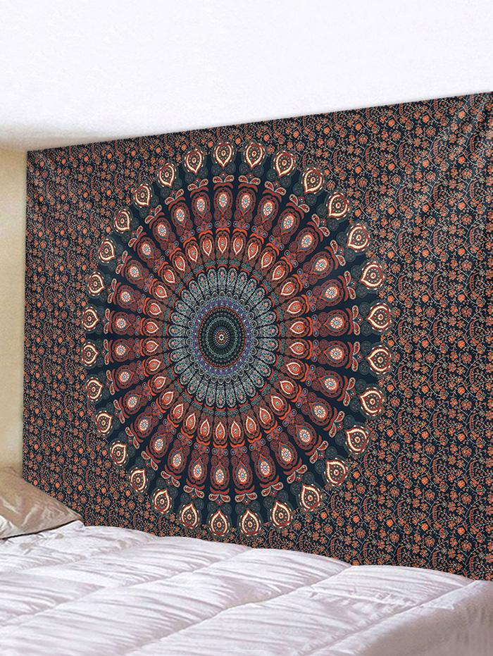Bohemian Digital Print Flower Waterproof Tapestry