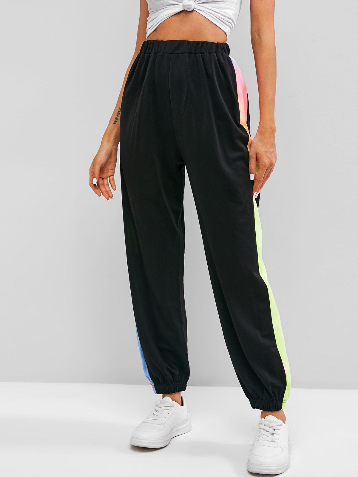 Tie Dye Side Pull On Jogger Pants