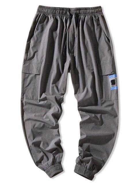 Klappen Tasche Beam Füße Hose - Dunkelgrau 3XL Mobile