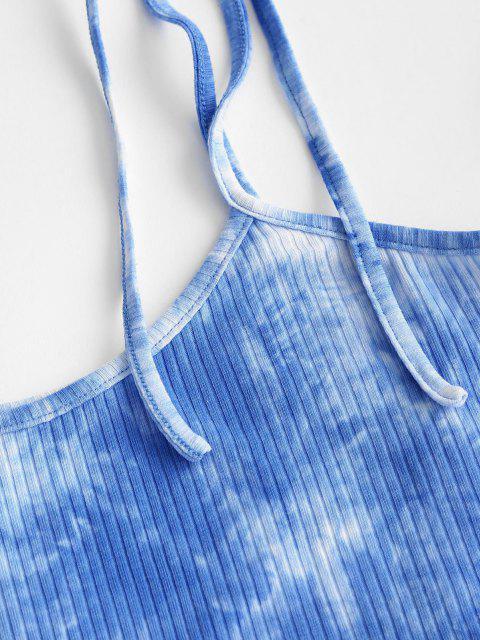 trendy ZAFUL Tie Dye Co Ord Set - MULTI-A M Mobile