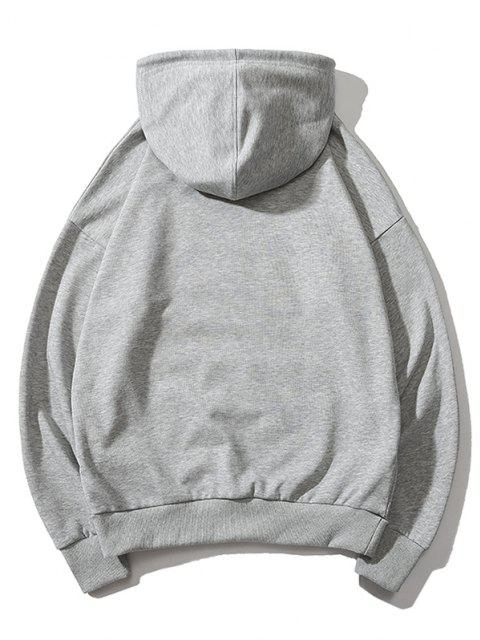 Chinesische Limonade Produktion Etikettendruck Hoodie - Grau M Mobile
