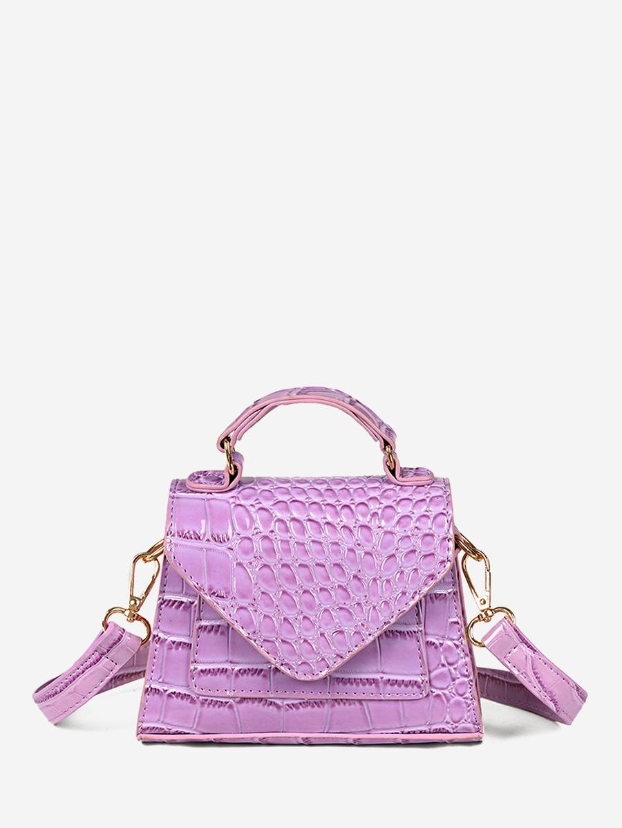 Textured Cover Crossbody Bag