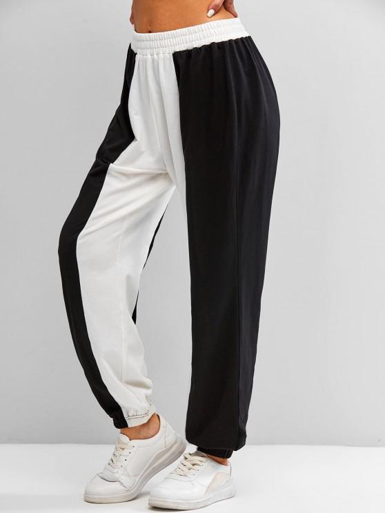 ZAFUL Pantalon de Jogging Bicolore - Multi S