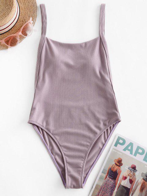 ZAFUL مضلع قطرة الكم العليا قص قطعة واحدة ملابس السباحة - خبازي S Mobile