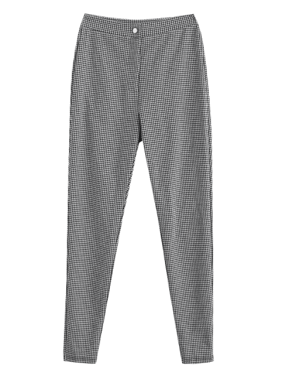 ZAFUL High Waisted Houndstooth Pants