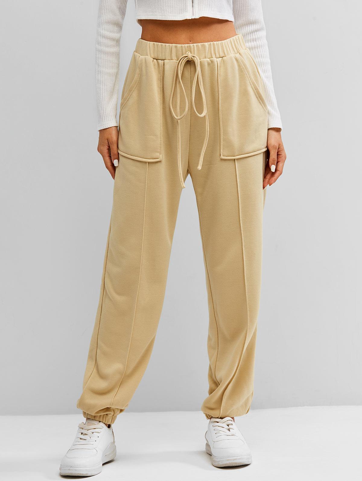 Pantalon de Jogging à Taille Haute - ZAFUL - Modalova