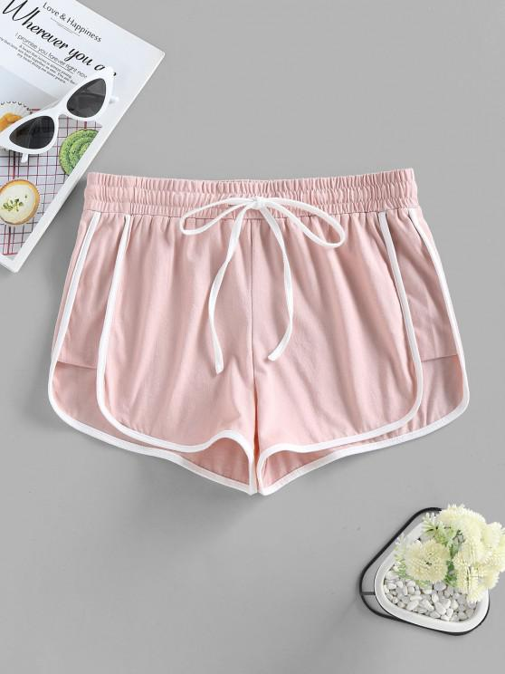ZAFUL Track Drawstring Dolphin Shorts - زهري L