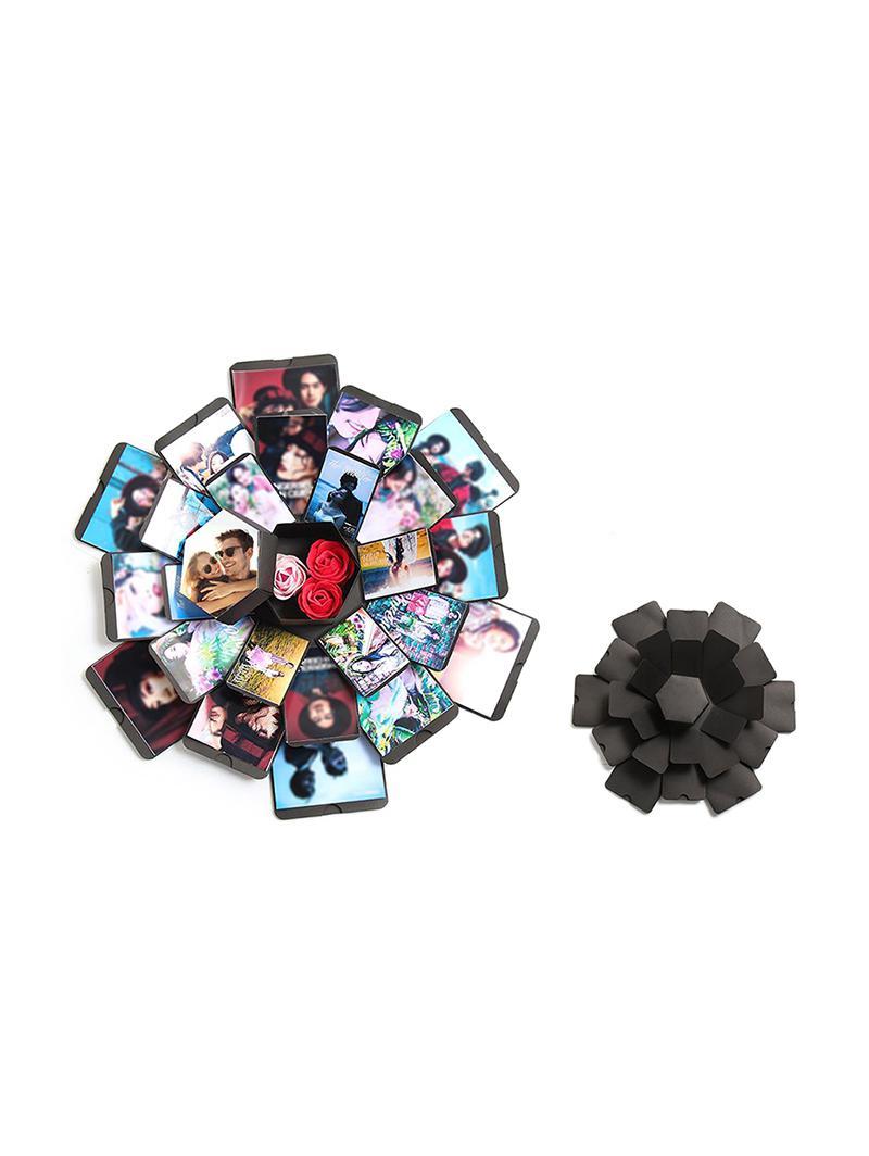 Creative Surprise Birthday Gift DIY Photo Album Explosion Bouncing Box