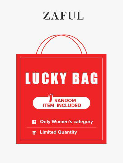 ZAFUL Summer Lucky Bag - 1 Random Items Included - Only Women's Category - Limited Quantity - Multi M