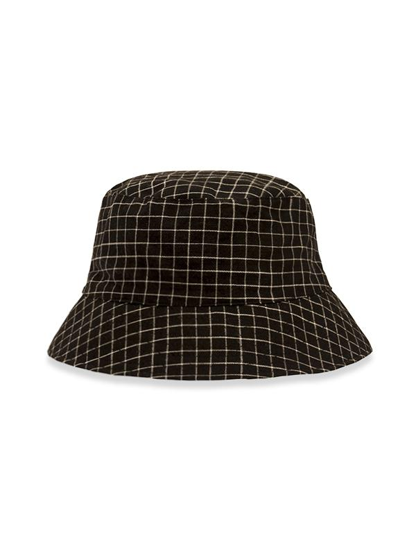 Plaid Print Bucket Hat