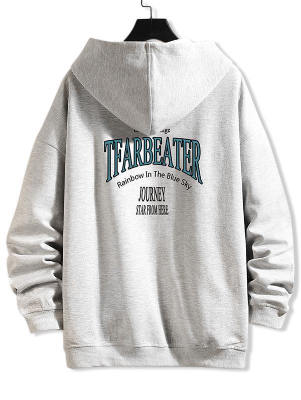 Zaful Zip Up Hoodie Jacket