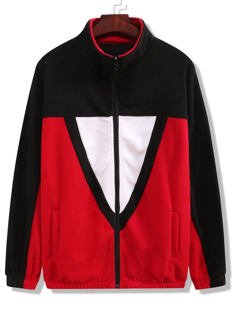 Zaful Colorblock Fleece Jacket