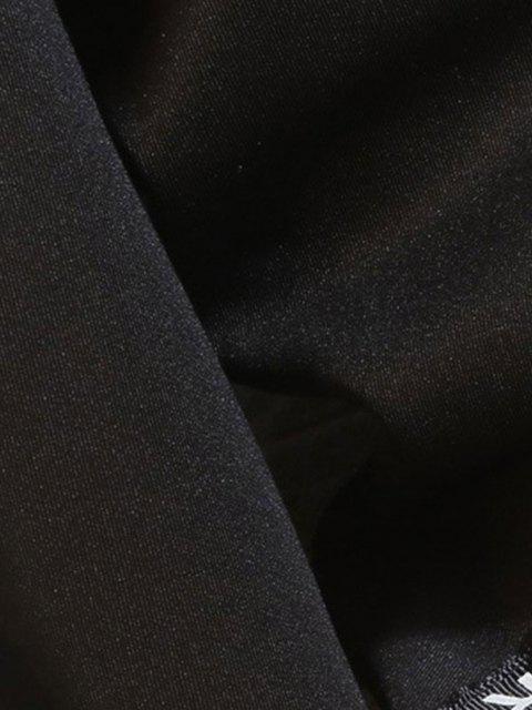 Känguru Tasche Buchstaben Klebeband - Schwarz XS Mobile
