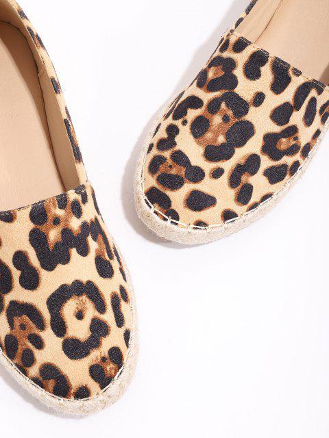 Sapato raso de pelúcia Leopardo - Multi-A UE 38 Mobile