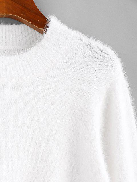 ZAFUL Camisola Curta Difusa - Branco L Mobile