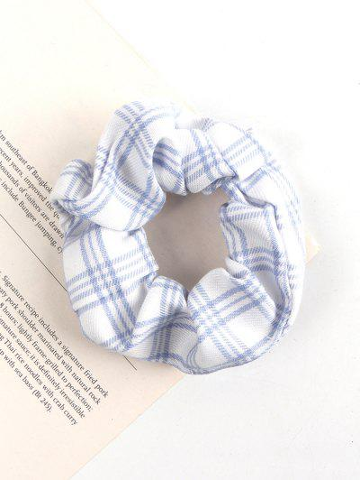 Carourile Tipărit Fabric Scrunchie - Alb