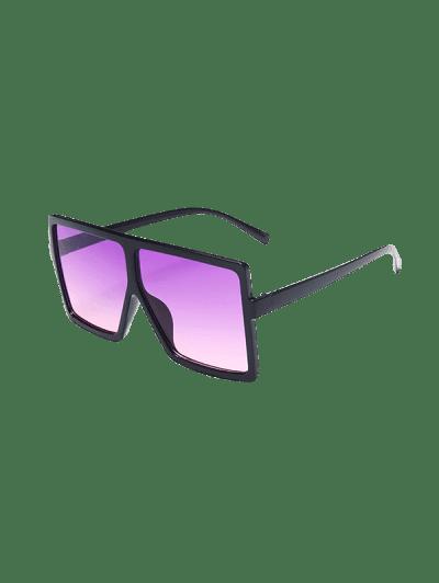 Oversized Ombre Square Sunglasses