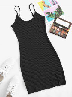 Vestido Cami Rib Bodycon - Preto L