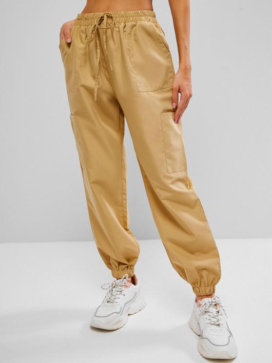 shops Pull On Cargo Pants - LIGHT COFFEE S