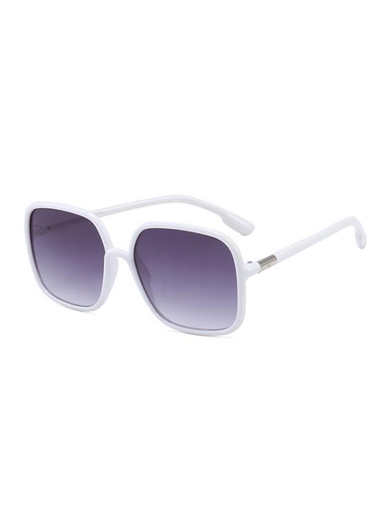 outfit Travel Anti UV Square Sunglasses - WARM WHITE
