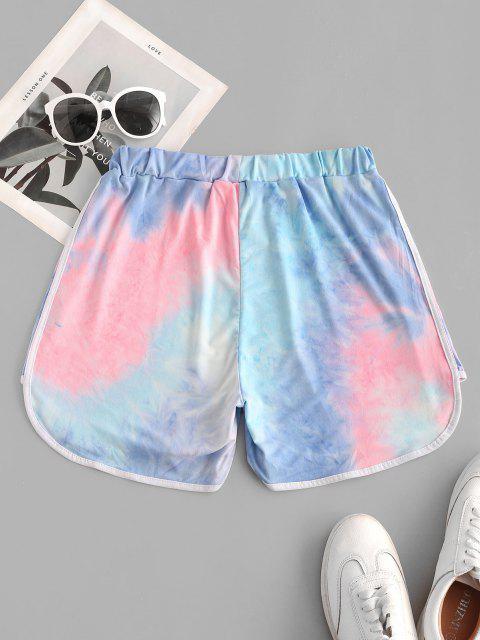 online Neon Tie Dye Dolphin Shorts - MULTI-A S Mobile