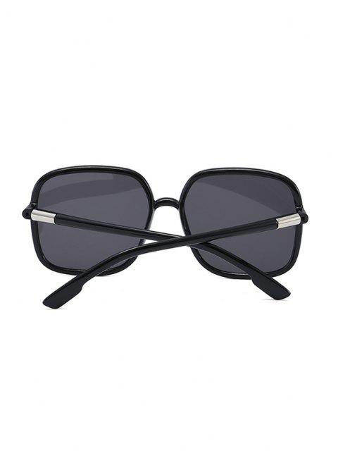 Travel Anti UV Square Sunglasses - أسود  Mobile