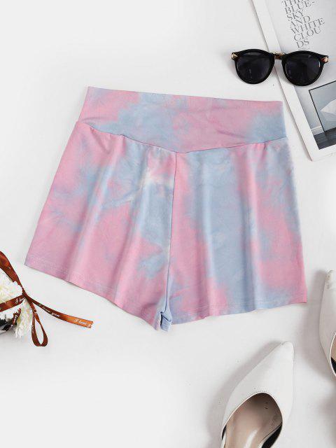 Short Teinté à Taille Large - Rose clair XL Mobile