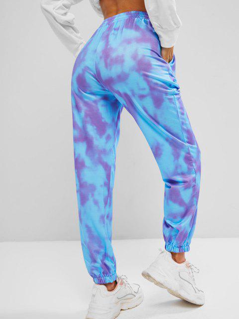 Jogger di Tie-Dye Grafica - Multi Colori L Mobile