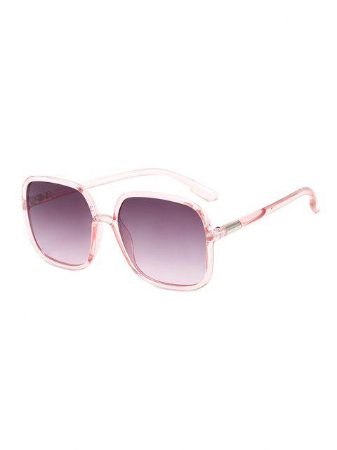hot Travel Anti UV Square Sunglasses - PINK  Mobile