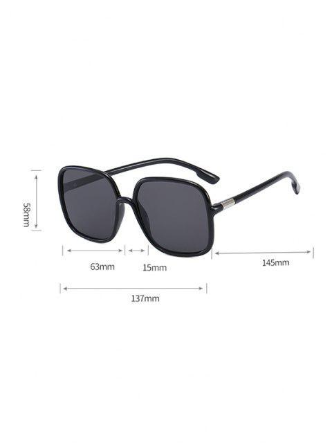 shop Travel Anti UV Square Sunglasses - MULTI-B  Mobile