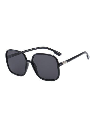 Óculos De Sol De Viagem Quadrada UV - Preto