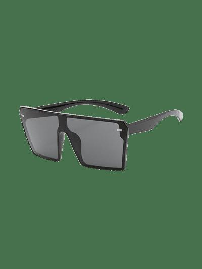 Square Shield Oversized Sunglasses