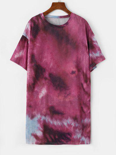 T-shirt De Túnica De Ombro Caído Com Laço - Concórdia Xl
