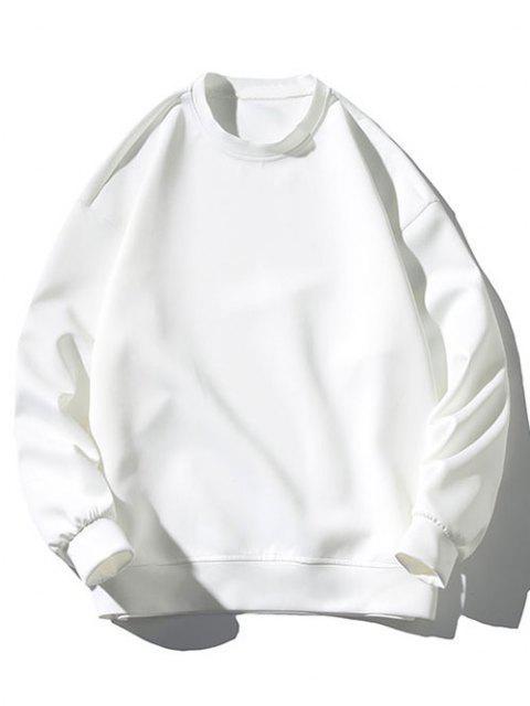 Sweat-shirt Motif de Chat et de Souris Amusant - Blanc M Mobile