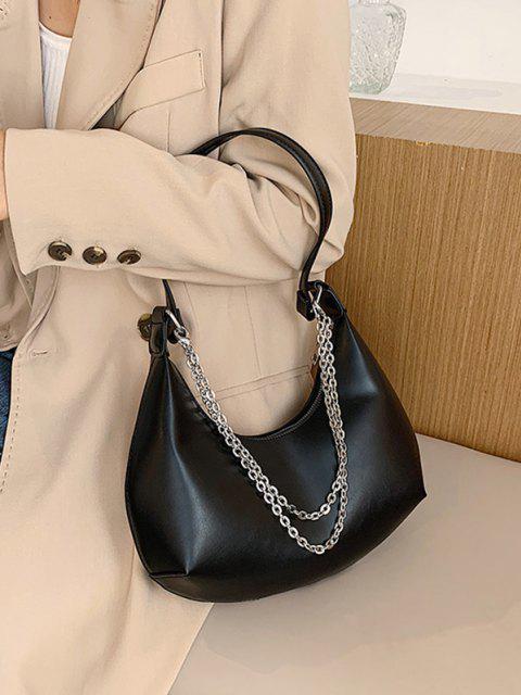 Hälfte Zugeknöpfter Stein und Passen Sie Ihre Verschiedenen Kleider - Schwarz  Mobile