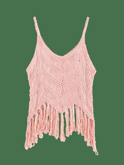 Fringed Crochet Beach Top
