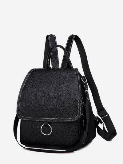 Cover O Ring Small Backpack - Black