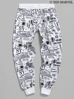 PantalondeJoggingMarvelSpider-ManGraphiqueImprimé - Blanc 2xl