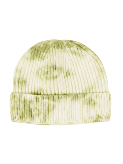 Tie Dye Ribbed Knitted Hat