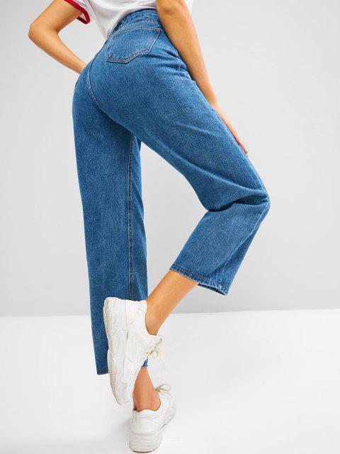 Jeans de Pierna Ancha - Azul XL Mobile