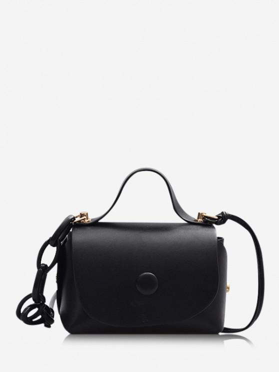 buy Mini Chain Cover Crossbody Bag - BLACK