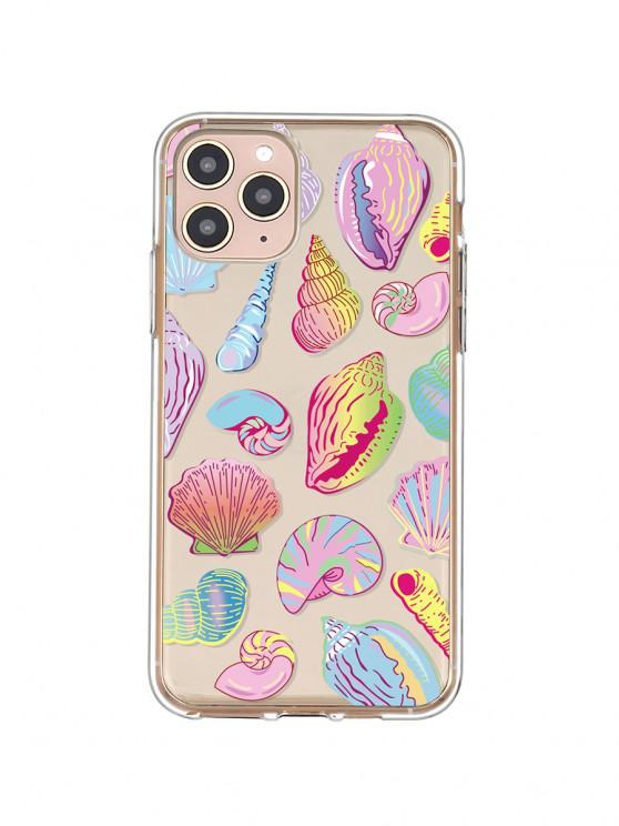 affordable Sea Shell Conch PrintPhone Case For IPhone - YELLOW IPHONE 11PRO