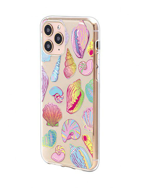 affordable Sea Shell Conch PrintPhone Case For IPhone - YELLOW IPHONE 11PRO Mobile
