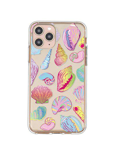 Sea Shell Conch Print Phone Case For IPhone - Yellow Iphone 11pro